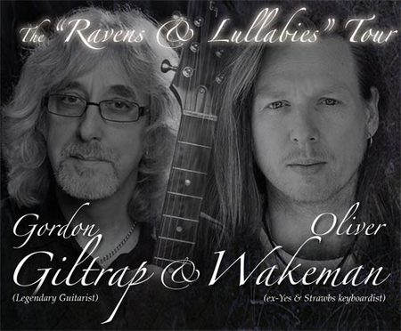 Gordon Giltrap and Oliver Wakeman 2012