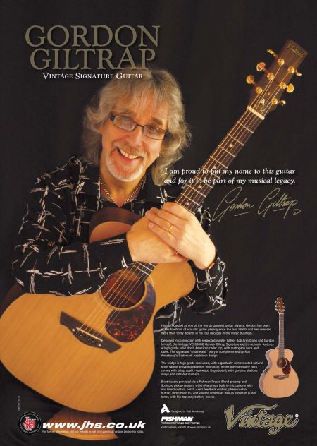 WIN a Gordon Giltrap Signature Guitar