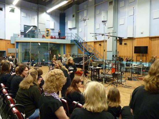 Glee Club UK at Abbey Rd Studios Feb 2016